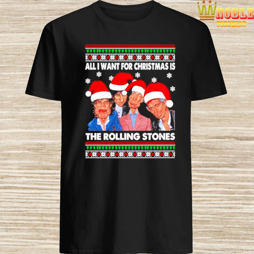 All I Want For Christmas Is The Rolling Stones 2020 Christmas Ugly Sweater