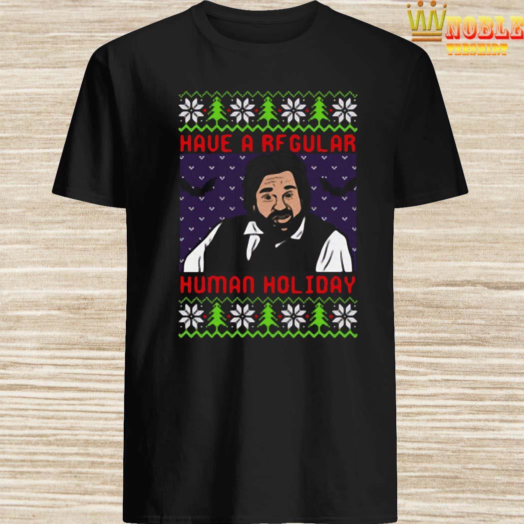Have A Rfgular Human Holiday Christmas Sweater