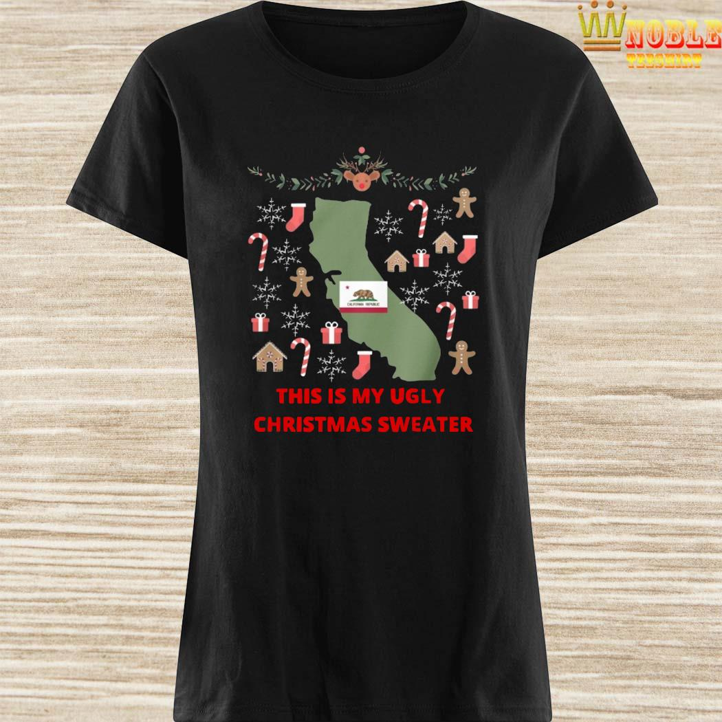 Houston Texans This Is My Ugly Christmas Sweater Ladies Shirt