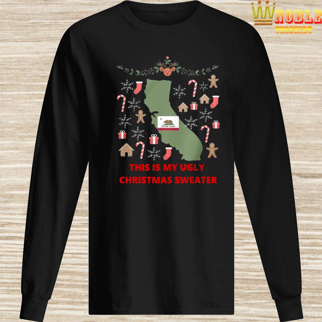 Houston Texans This Is My Ugly Christmas Sweater Long Sleeved