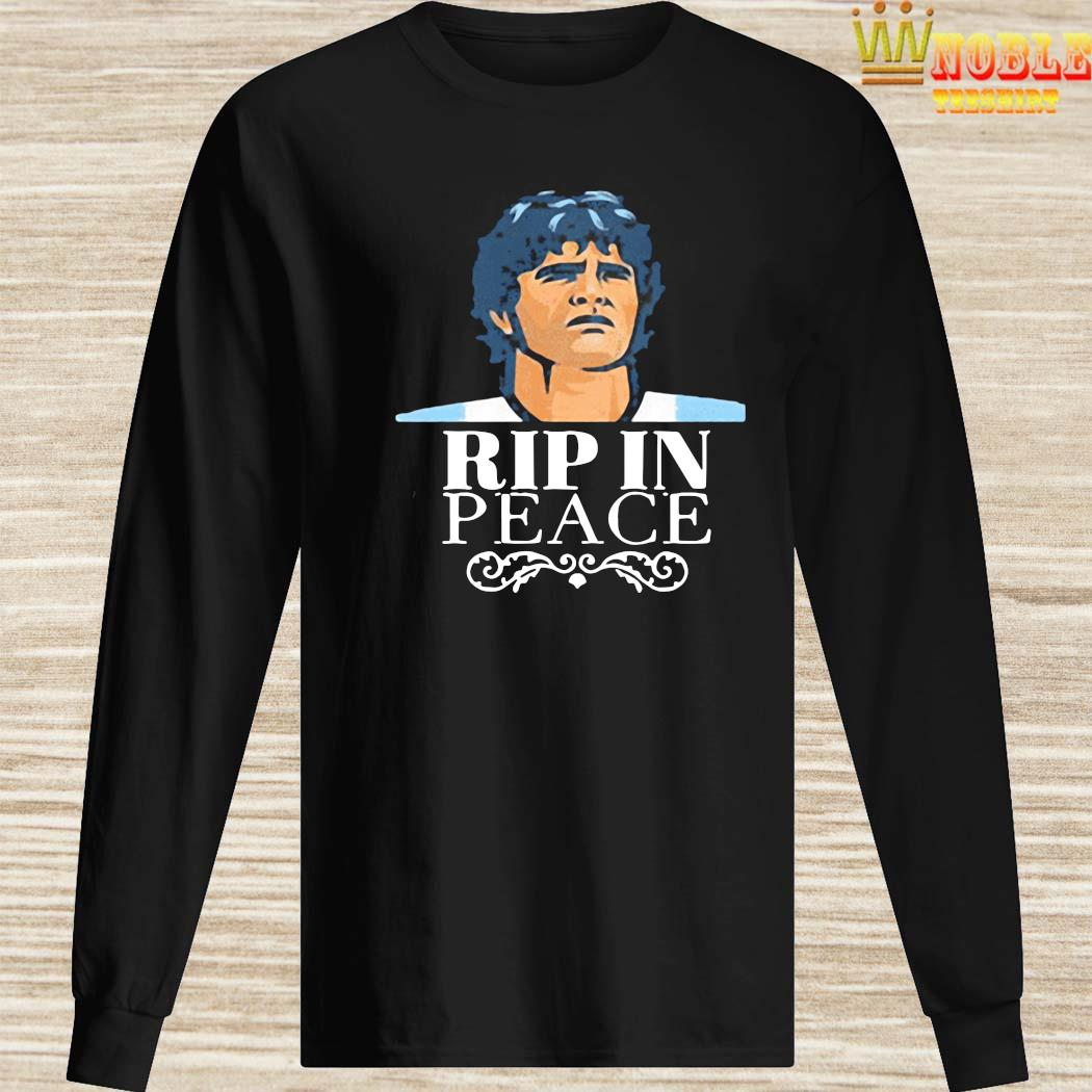 Official R.I.P 1960 2020 Diego Maradona In Peace Shirt Long Sleeved