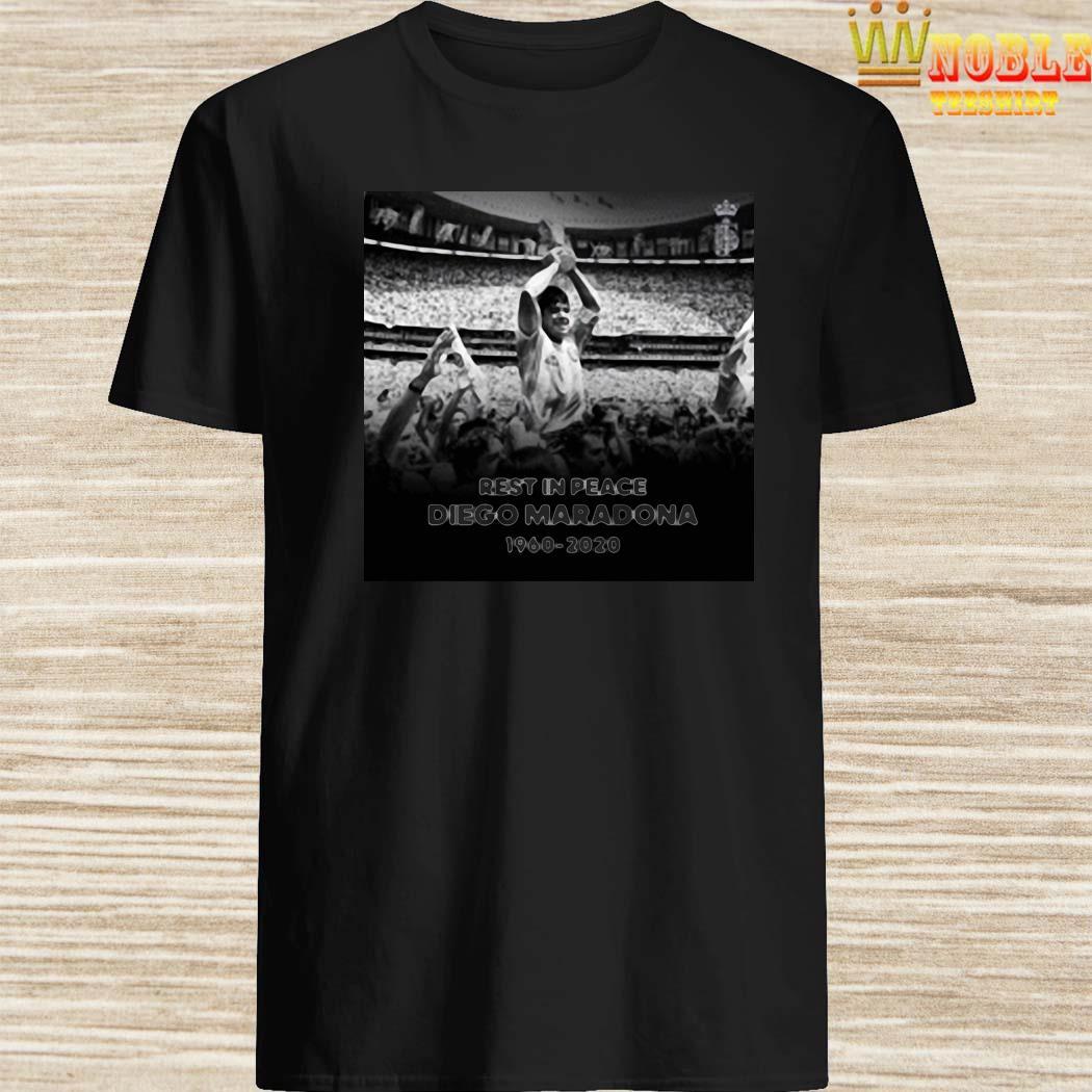 Rest In Peace Love Diego Maradona 1960-2020 Shirt