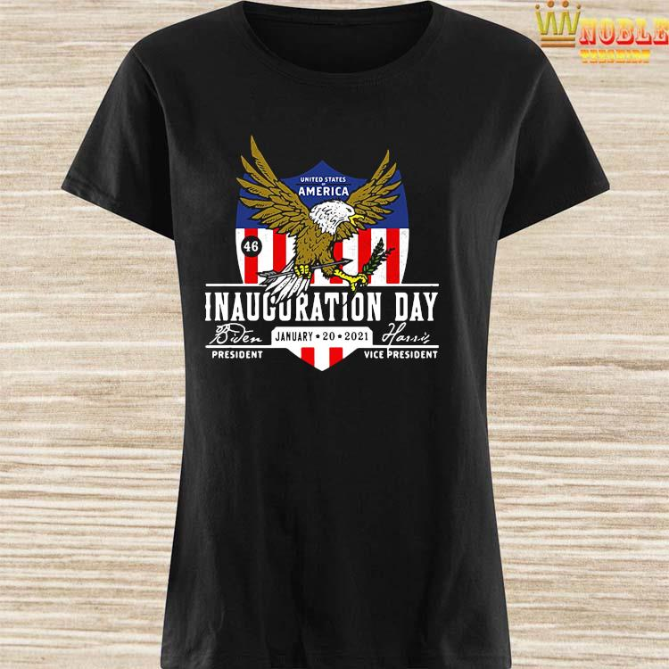 2021 Biden Harris Inauguration Day POTUS 46 Pro America USA Shirt Ladies Shirt