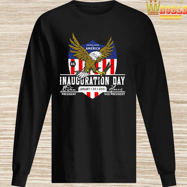 2021 Biden Harris Inauguration Day POTUS 46 Pro America USA Shirt Long Sleeved