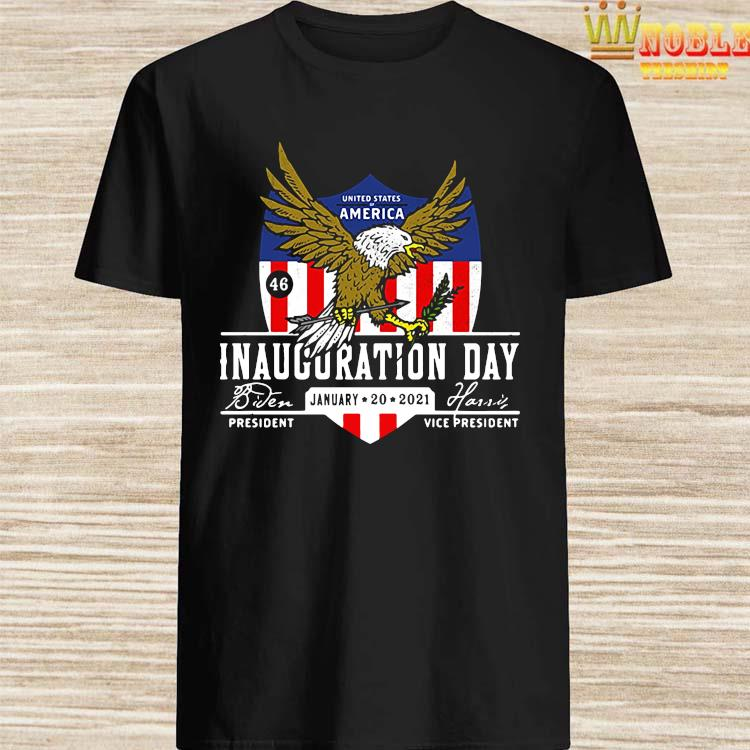 2021 Biden Harris Inauguration Day POTUS 46 Pro America USA Shirt