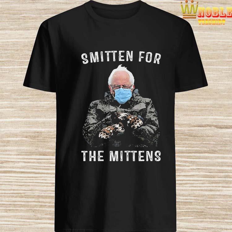 Bernie Sanders Smitten For The Mittens Shirt