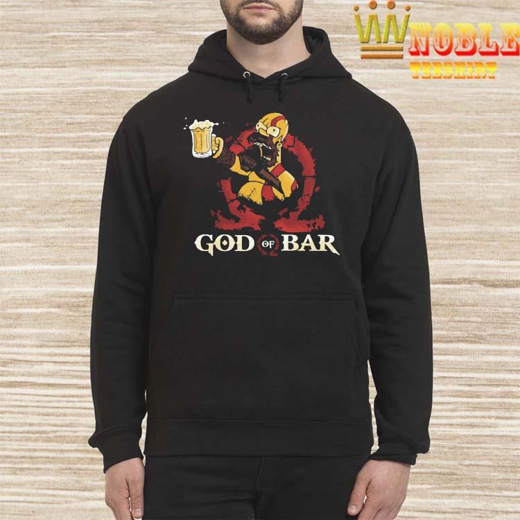 Homero Simpson God Of War Shirt Hoodie