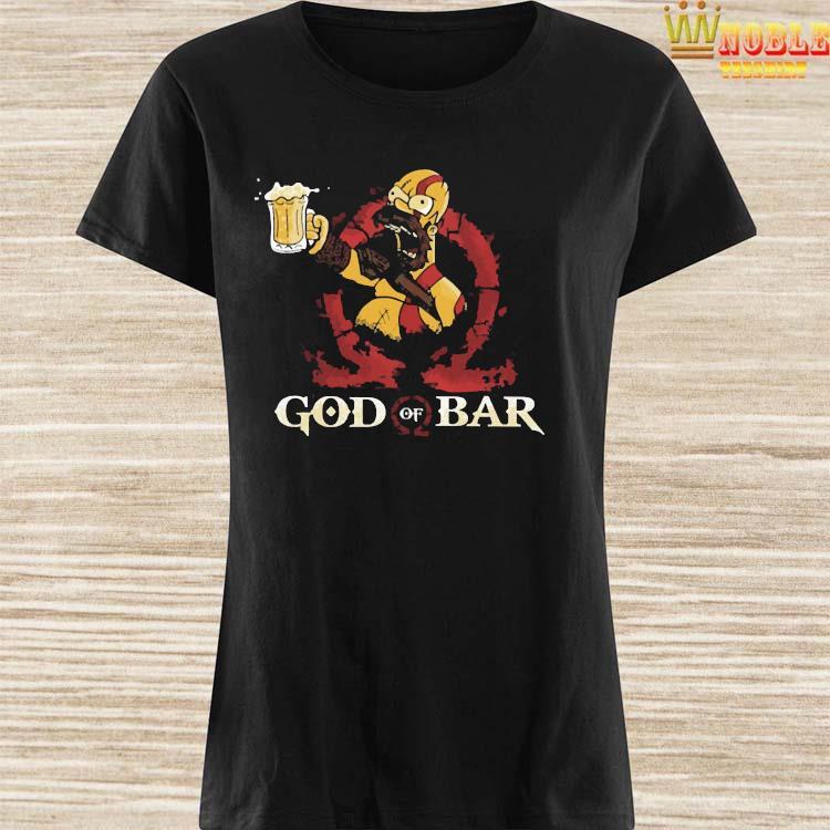 Homero Simpson God Of War Shirt Ladies Shirt