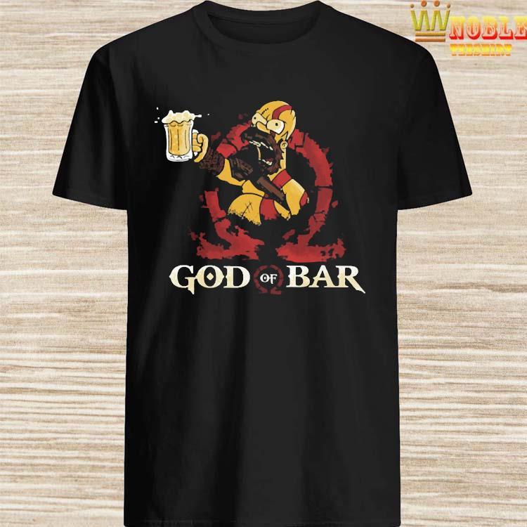 Homero Simpson God Of War Shirt