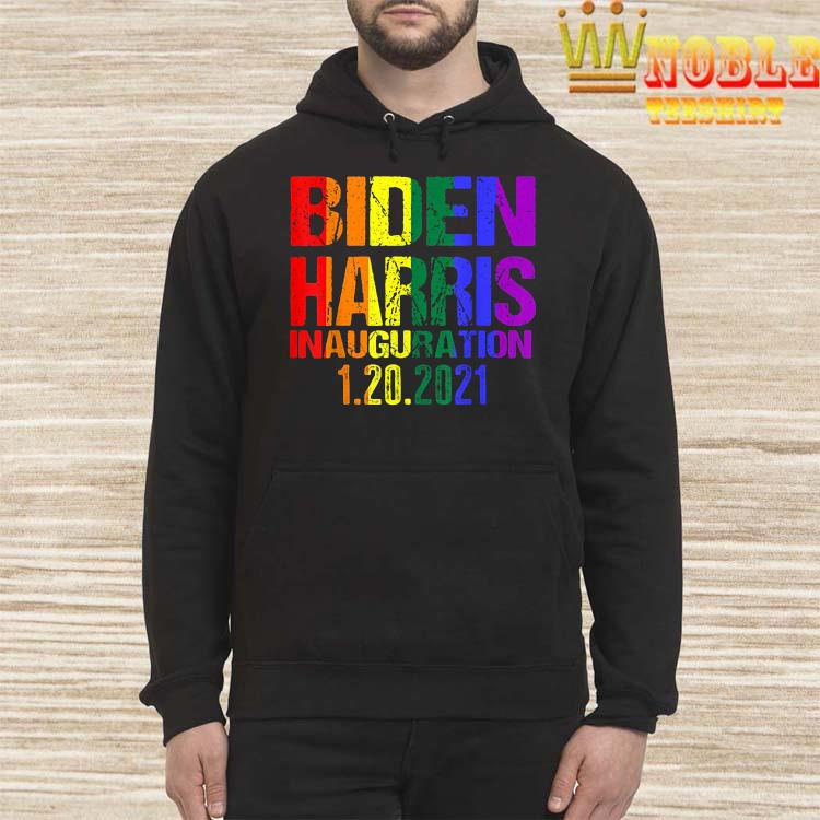 Inauguration Day 2021 Joe Biden Kamala Harris LGBT Pride Shirt Hoodie