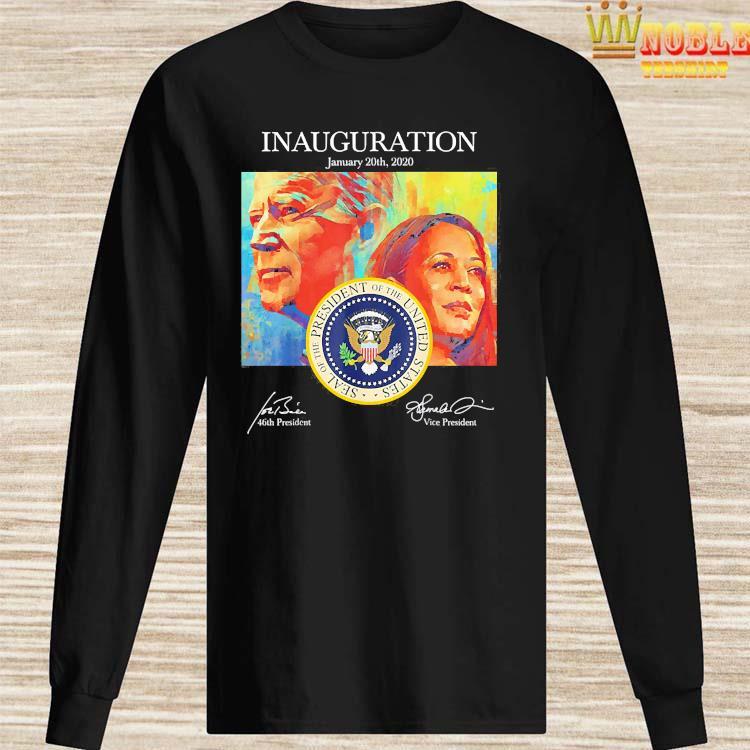 Joe Biden Harris Presidential Inauguration 2021 Celebration Shirt Long Sleeved