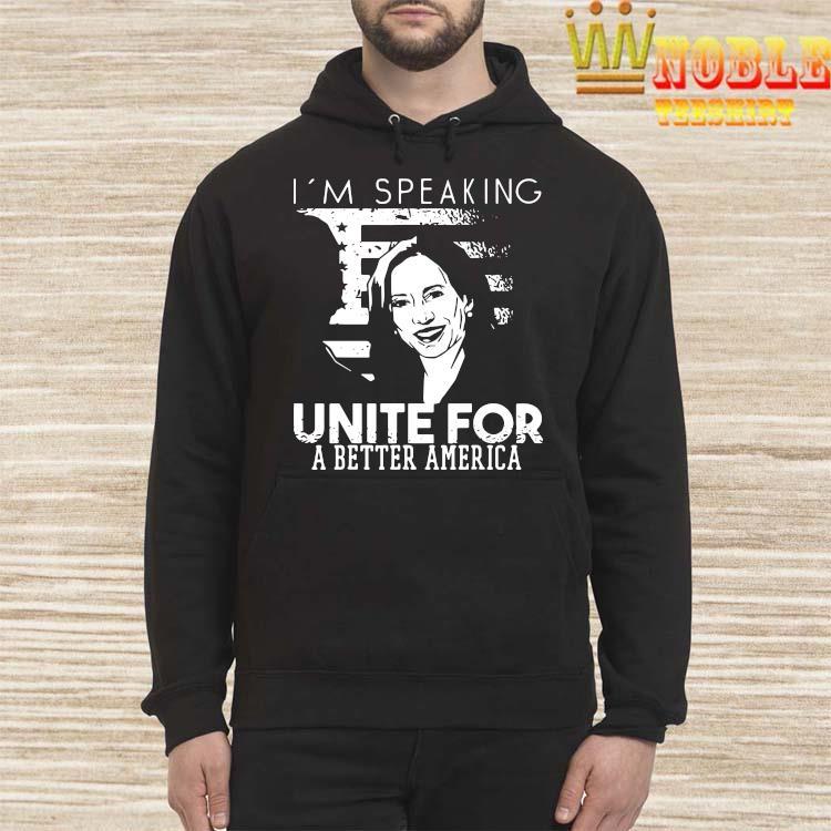Kamala Harris I'm Speaking Quote Shirt Hoodie