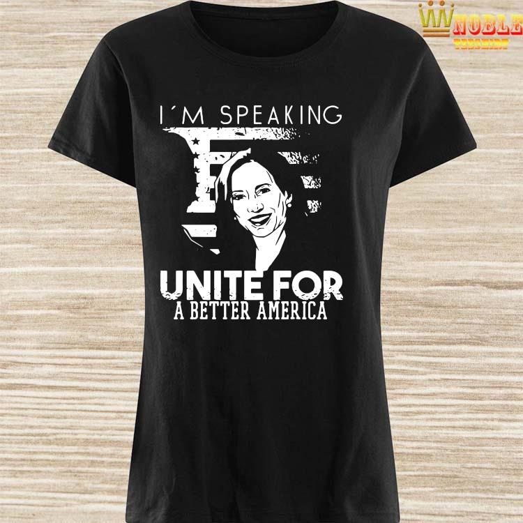 Kamala Harris I'm Speaking Quote Shirt Ladies Shirt