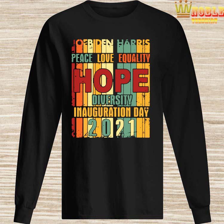 President Biden Inauguration Day 2021 Shirt Long Sleeved